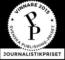 Vinnare av Svenska Publishing-priser 2015