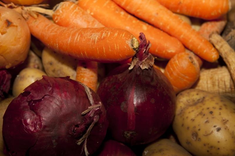 Spannmål, grönsaker och rotfrukter kan innehålla stora mängder kadmium. Foto: mostphotos.com / Fredrik1979.