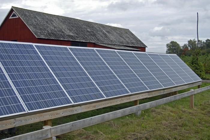 Bara en procent av världens energiförsörjning kommer från sol- och vindkraft. Foto: Dan Karlsson / Azote