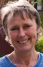 Christina Greko, veterinär vid Statens veterinärmedicinska anstalt.
