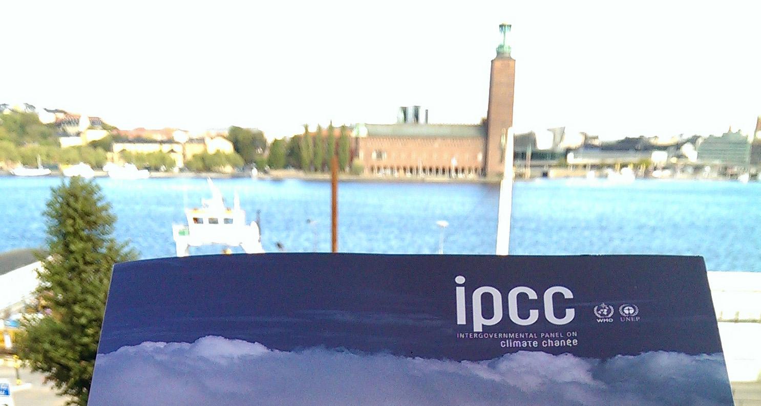 IPCC-rapporten fond Stadshuset beskuren 2