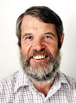 David Turner, professor i marin kemi studerar havsförsurning. Foto: Malin Arnesson