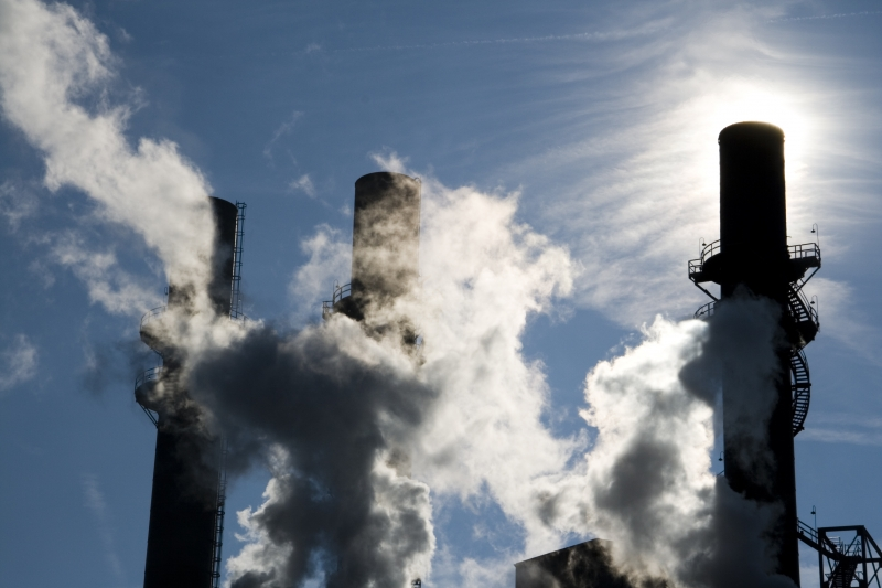 utsläpp av klimatpåverkande luftföroreningar