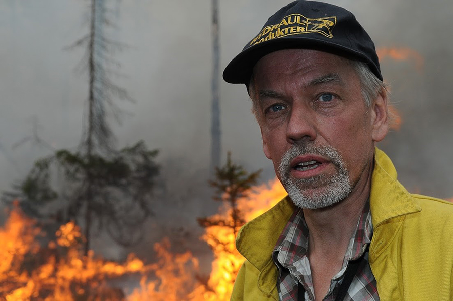 Anders Granström, brandekolog på SLU. Foto: Ola Kårén
