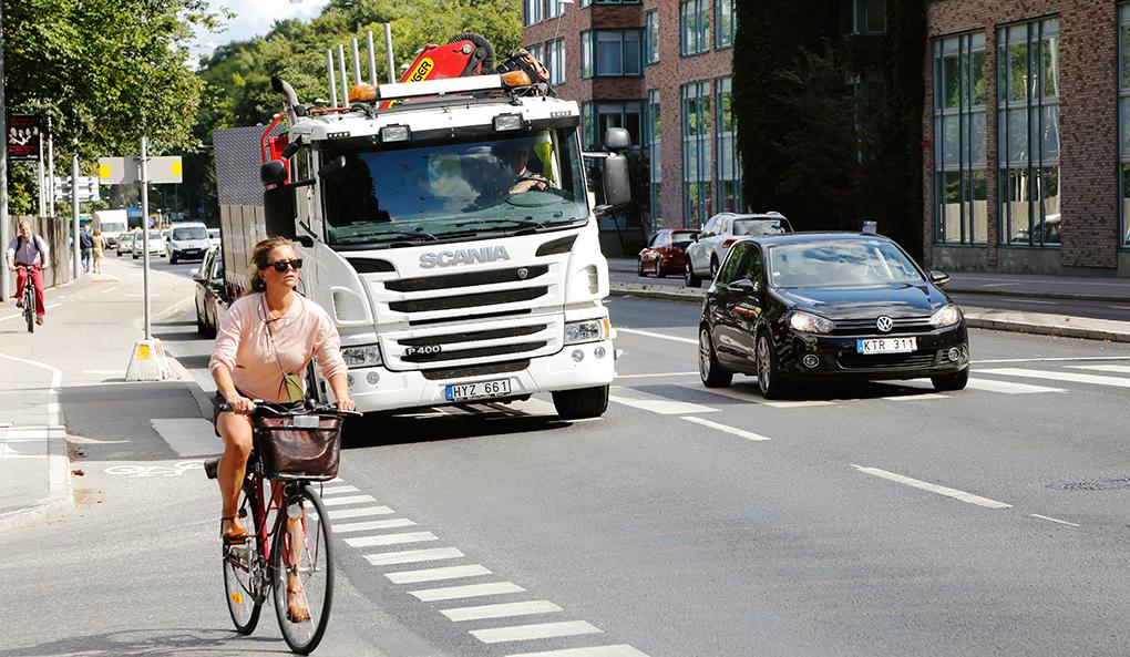 trafikmiljö