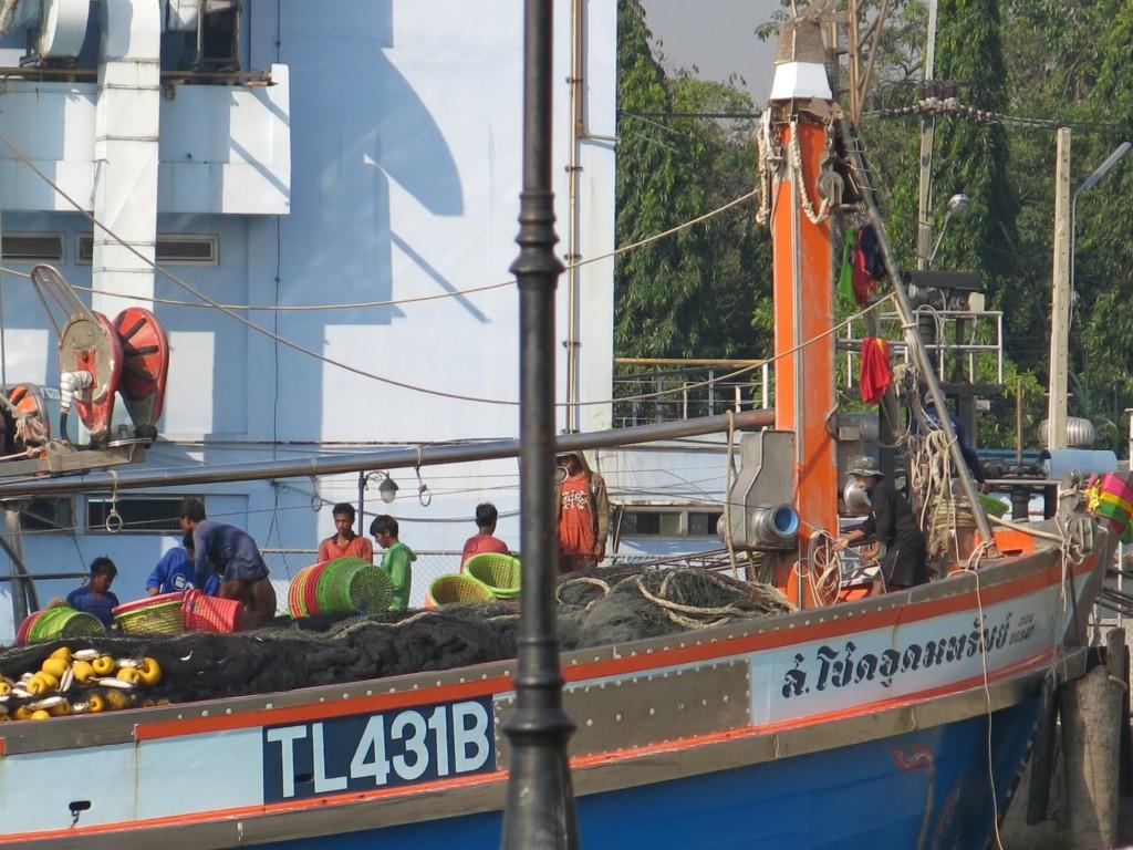 Fiskebåt Thailand