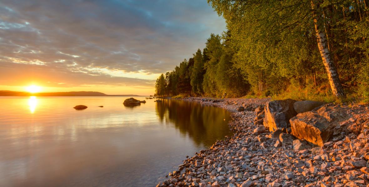Sjön Siljan