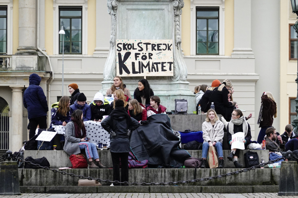 klimatprotest